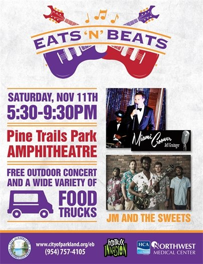 Eats 'n' Beats at the Pine Trails Park Amphitheatre