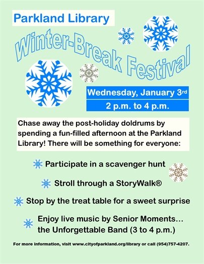 Winter Break Festival