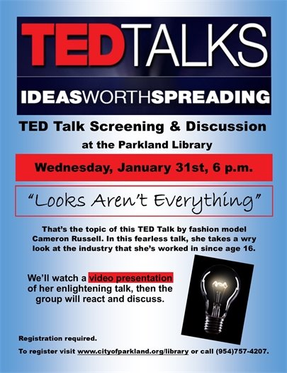 Ted Talks at the Parkland Library
